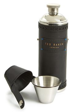 Ted Baker London Hip Flask & Cups.
