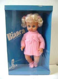 Boneca Bianca - Atma - anos 80