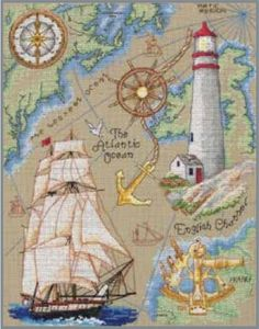 Maritime - Counted Cross Stitch Kit