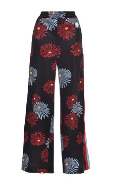 Daisy Print Trousers by MSGM for Preorder on Moda Operandi