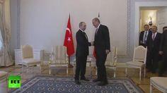 Vladimir Putin dice visita de Erdogan a Rusia marca el inicio la reanudación del diálogo