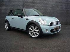 My dream car! A baby blue mini.