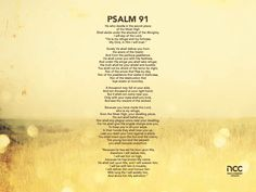 Psalm 91   http://www.newcreation.org.sg/read-feed/downloads