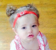 Square Rhinestone Bow Baby Headband on Etsy, $15.00