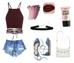"""""""Chiqu's"""" by fourteenapril ❤ liked on Polyvore featuring Gap, Bueno, Gucci and NYX"""