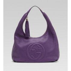 e576c7b4a Gucci Large Hobo Grape Sale Gucci Soho Bag, Buy Gucci, Purple Bags, Purse