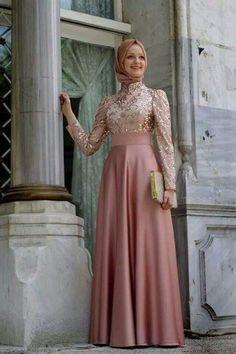 Wedding Hijab Styles-20 Simple Hijab Fashion for Wedding
