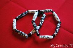 My-CreativiT: Paper Bead Bracelets