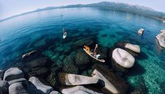 GoPro Channel | Sand Harbor Paddle