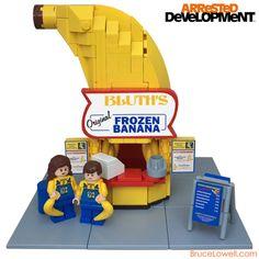 LEGO Bluth's Original Frozen Banana Stand (by bruceywan)