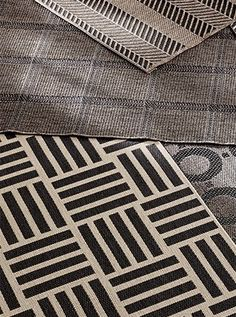Neutral patterned rugs
