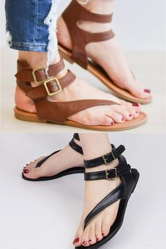 2a2d3fb80 11 Best Flat strappy sandals images