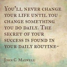 The Secret of Your Success | 20 Inspirational Quotes About Changing Yourself