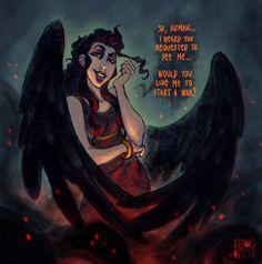 do not summon her by Fedini {Eris}