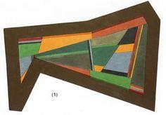Arte Madí- Nelly Esquivel: Pintura Madi, 1948 Arte Madi, Esquivel, Frame, Gardens, Google, Decor, Pintura, Sculptures, Picture Frame