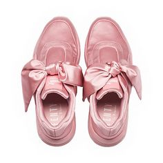 FENTY Puma x Rihanna Women s Satin Bow Sneakers Shoes - Bloomingdale s e1ad4059c