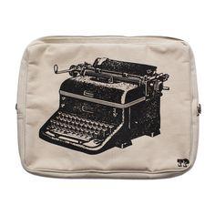 Thomas Paul Vintage Typewriter Laptop Bag   Izola  This is too cute