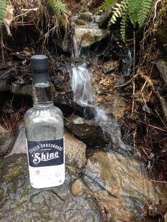 High Ridge Spirits, Stills Crossroads 'Shine It's in the water.