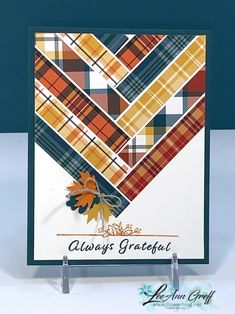 Fall Cards, Holiday Cards, Christmas Cards, Diy Christmas, Paper Quilt, Thanksgiving Cards, Card Making Inspiration, Pretty Cards, Card Sketches