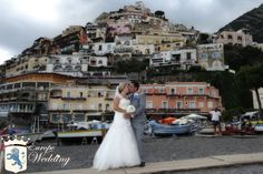 Stacie & David in their beloved Amalfi Coast - Positano, Italy