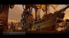 תוצאת תמונה עבור pirate ship interior concept art