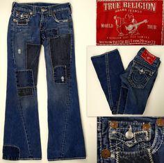 464d09b7294 True Religion Regular Low Distressed 33 Jeans for Men