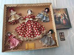 Rare Ruth Gibbs Little Women Mint Set, NRFB, 5 Dolls, 1950's + Extras   eBay