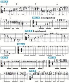 How to Create Sweet-Sounding Twin Leads with the Major Hexatonic Scale - Guitar World Guitar Sheet, Guitar Solo, Guitar Tabs, Music Guitar, Guitar Chords, Playing Guitar, Learning Guitar, Music Lessons, Guitar Lessons