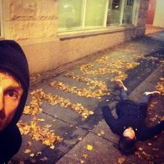 Muse Dominic Howard Matt Bellamy Vancouver Studio Leaves