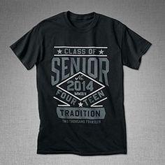 Senior Black T Celebrate our Senior year!