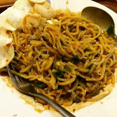 Mie Aceh Tumis Daging