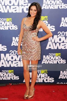 Actress Shay Mitchell arrives at the 2011 MTV Movie Awards at Universal Studios' Gibson Amphitheatre on June 5, 2011 in Universal City, California.