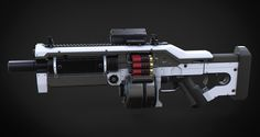 ArtStation - Komodo Assault Shotgun, Aberiu (Alex)