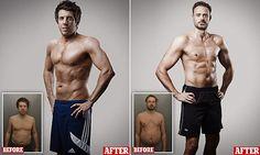 Jamie Theakston andAndy Goldstein unveil their new bodies