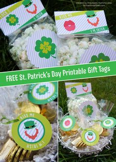 FREE St. Patrick's Day Printable Gift Tags