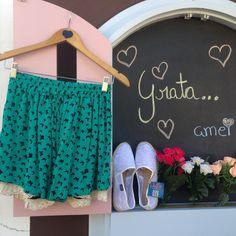 gratidãopaz @loja_amei  não esqueça de abrir a janela #alpargata #promo #linda #shorts #borboleta