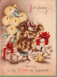 1000+ images about Vintage Christmas - 21 on Pinterest | Vintage christmas cards, Vintage christmas and Vintage greeting cards