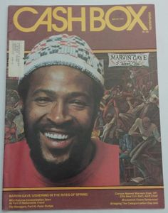 CASHBOX MUSIC 1976 MAGAZINE ELVIS MARVIN GAYE April 24 Issue