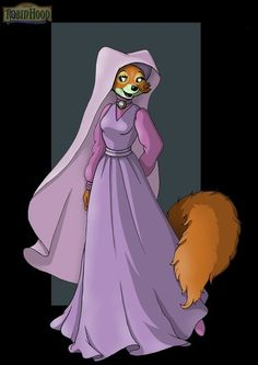 *MAID MARIAN ~ Robin Hood, 1973....Princess Fan Art