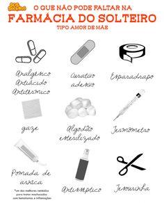 Farmacinha em Casa | SOS Solteiros