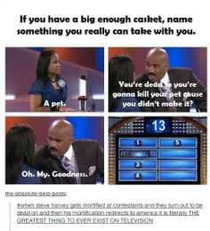 "Steve Harvey is the best ""Family Feud"" host, hands down."