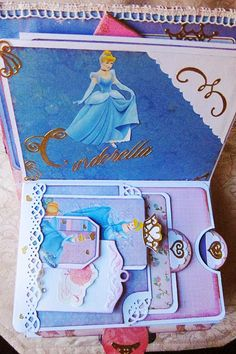 Jubilee Crafts: Disney Princess Scrapbook Mini-Album
