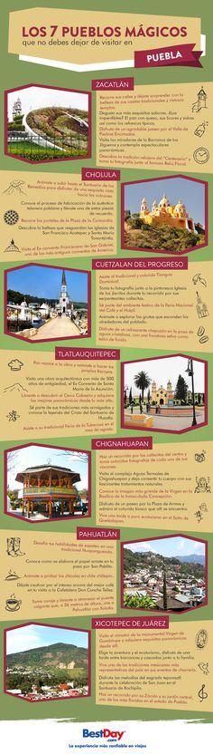 En México además de contar con hermosas playas también tenemos #PueblosMágicos, destinos ricos en cultura y tradiciones que tienes que conocer. Aquí te recomendamos algunos que puedes visitar en #Puebla