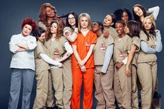 Orange Is The New Black - on my 'to watch' list!