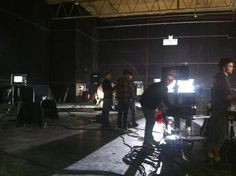 Behind the scenes at the Align Technology shoot today