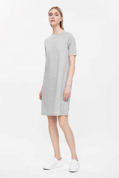 Straight rib dress