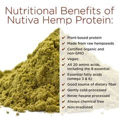 Hemp Protein Benefits, Hemp Protein Powder, Sources Of Dietary Fiber, Protein Sources, Oil Benefits, Hemp Powder Benefits, Health Benefits, Hemp Leaf, Packaging