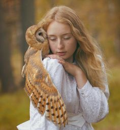 katerina plotnikova is a young moscow-based fine art photographer who brings animals and humans together in her spiritual and magical photography. her fairy-tale-inspired works recreate the long-lost or long-forgotten bond between animals and humans.