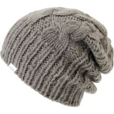 Coal Girls Parks Grey Cable Knit Beanie at Zumiez : PDP