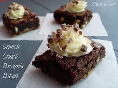 Cakeyboi: Crunch Crust Brownie Bites with Dr. Oetker